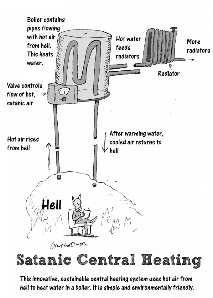 Satanic central heating system for Best central heating system