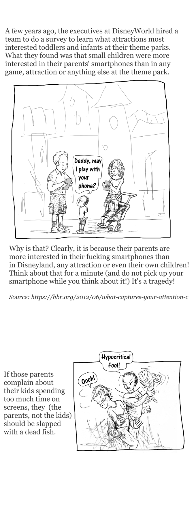 Smartphone blues cartoon story part 3