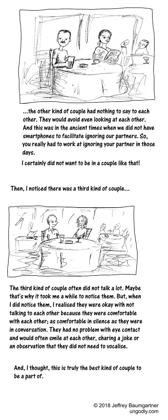 Cartoon story: what I learned watching couples in Lisbon - 2