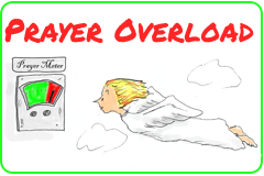 Link to cartoon story, Prayer Overload