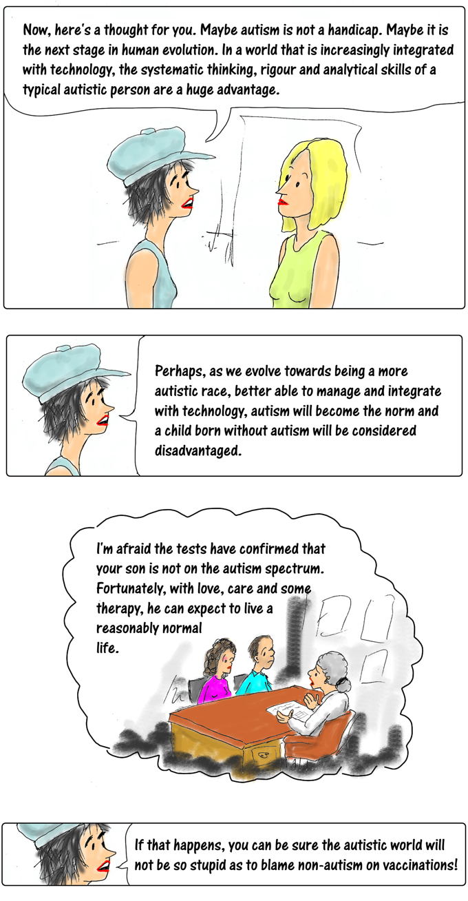 Cartoon story: vaccines, autism, a rant and a thought part 7