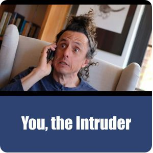 Link to video, You, the Intruder